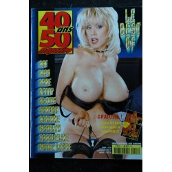 40 / 50 ans magazine L 9215 n° 8 - Cat Lisa Lyne Patty Alexis Sandra Corinne Marilyn - Fr - Nude Erotic Charme - 84 pages