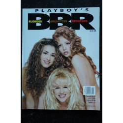 PLAYBOY'S BLONDES BRUNETTES & REDHEAD 1997 01 Holly Witt Cindy Brown Baby Norman