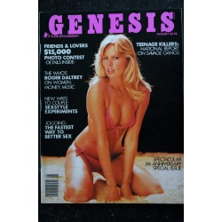 Genesis 1978 / 08 - The Who's Roger Daltrey - Sexstyle experiments - Robin Wood - Erotic Vintage