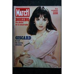 PARIS MATCH N° 1454 Isabelle Adjani Cover + 2 p. - Eva Bluebell au Lido - Le nouveau Castro - 108 pages - 1977 04 08