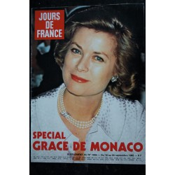 JOURS DE FRANCE 1446 18 au 24 sept. 1982 Grace de Monaco - Supplément - 36 pages