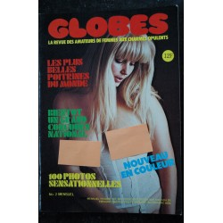 GLOBES 02 N° 2 CHARMES OPULENTS LES PLUS BELLES POITRINES DU MONDES RARE COLLECTOR 78