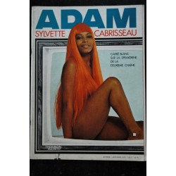 ADAM 41 SPEAKERINE SYLVETTE CABRISSEAU NUE NUDES JEANNENEY CLEMMER PRINGLE 1970