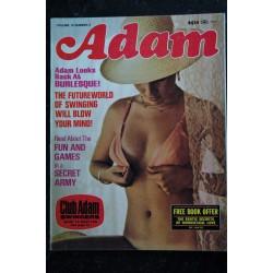 ADAM Us Vol. 19 n° 5 may 1975 - Burlesque - Swinging - Gayna Carole Brandy Linda