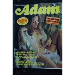 ADAM Us Vol. 19 n° 6 june 1975 - TRES RARE - The Auto-erotic female - Vickie Nita jamie