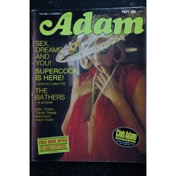 ADAM Us Vol. 19 n° 8 august 1975 - TRES RARE - The Bathers - Glenda Shannon Michele Parker Delilah Jones Shelagh