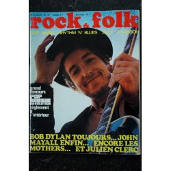 ROCK & FOLK 030 Juillet 1969 Bob Dylan - Julien Clerc - John Mayal - Les Mothers
