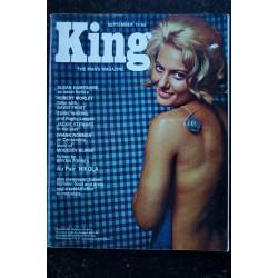 KING 1965 09 Susan Hampshire David Frost Eddie Waring Jackie Stewart Modesty Blaise Pin-Up SEXY VINTAGE
