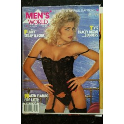 MEN'S WORLD Vol. 1 N° 07 TRACEY DIXON MARGO SARAH-JANE MALAGE TAWNY FLAMBO MURPHY ALISON CLAUDIA