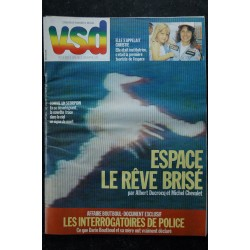 VSD 437 JANVIER 1986 COVER THIERRY SABINE DANIEL BALAVOINE SYLVESTER STALLONE INTERVIEW ROCKY RAMBO