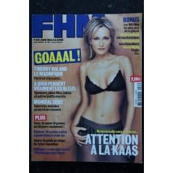 FHM 35 2002 06 Patricia KAAS Cover + 8 p. - Bellucci Karembeu Casta Kournikova Milano Thallia...- 180 pages