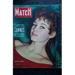 PARIS MATCH N° 320 14 au 20 mai 1955 BRIGITTE BARDOT Cover