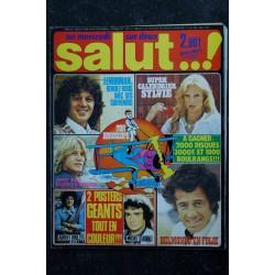 Salut ! 028 1977 09 Lenorman 2 p - Sylvie 2p - Juvet 3p - Belmondo 2p - Delpech - Fugain 2p