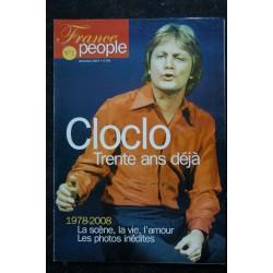 France people n° 1 CLAUDE FRANCOIS - CloClo trente ans déjà 1978-2008 - 2007 12 - 48 pages