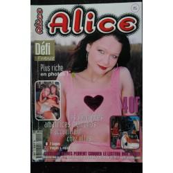 Alice 15 - 2000 - Les véritables amatrices nymphos t'accueillent chez elles - Charme - Erotisme