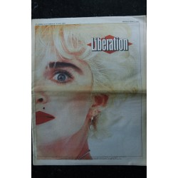 LIBERATION 1952 30 AOUT 1987 COVER MADONNA + 6 PAGES RARE NEUF