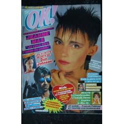 OK ! âge tendre 562 1986 COVER JEANNE MAS SYLVESTER STALLONE SANDRA DON JOHNSON