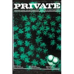 PRIVATE 20 * 1971 * RARE a Berth MILTON Publication Revue Roman Photo Adultes