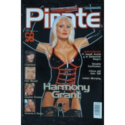 PIRATE 58 Spain - Niki Blond Sophie Evans Julian Murphy Harmony Grant Revue Roman Photo Adultes