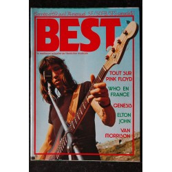 BEST 69 avril 1974 - Pink Floyd - Who - Genesis - Elton John - Van Morrison + Poster