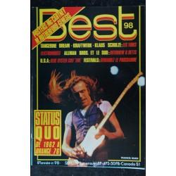 BEST 98 sept. 1976 Status Quo - Tangerine Dream - Kraftwerk - Blue Oyster Cult - Francis Rossi
