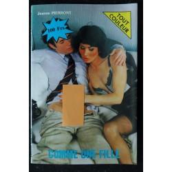 Comme une Fille - 1986 - Jeanne Pierront - Editions T.G.V.E. - Roman Photo Adultes