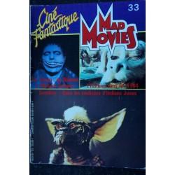 Ciné Fantastique MAD MOVIES n° 33 * 1984 * Histoire sans fin 1984 Gremlins Indiana Jones Ed French