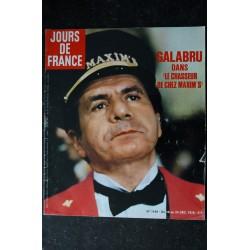JOURS DE FRANCE 1160 Margaux HEMINGWAY Cary GRANT Ringo & SHEILA Collection Yves Saint Laurent