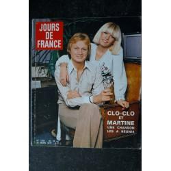 JOURS DE FRANCE 1149 DECEMBRE 1976 COVER MICHEL GALABRU LE CHASSEUR DE CHEZ MAXIM'S