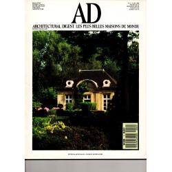AD 1988 06 - Architectural Digest. Les plus belles maisons du monde