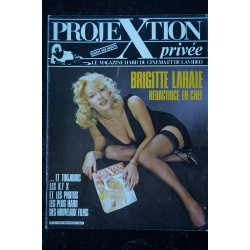 PROJEXTION PRIVEE 12 SPECIAL BRIGITTE LAHAIE SES PLUS BELLES PHOTOS EROTIC 1987