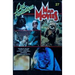 Ciné Fantastique MAD MOVIES n° 27 * 1983 * RETURN OF THE JEDI JAMES BOND CREEPSHOW