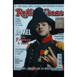 ROLLING STONE 016 FEVRIER 2004 COVER COURTNEY LOVE VINCENT CASSEL JOHN WOO