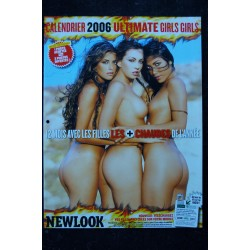 NEWLOOK CALENDRIER 1999 TANIA RUSSOF PHOTOS NUDES CHARM