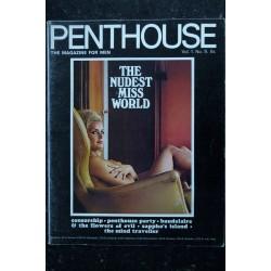 PENTHOUSE UK Vol 01 N° 09 * 1966 * Rare 1ère année LESLEY LANGLEY The Brides of FU-MANCHU