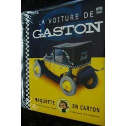 AROUTCHEFF FIAT 509 LA VOITURE DE GASTON LAGAFFE FRANQUIN A DECOUPER ET A CONSTRUIRE