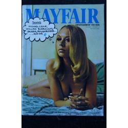MAYFAIR UK Vol 02 N° 12 1967 12 TRES RARE Peter CLARKE William BURROUGHS William BODY Michael CAINE