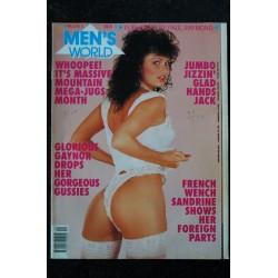 MEN'S WORLD Vol. 3 N° 09 GLORIA CARRIE-ANN HEATHER LAURA KATE CAROLE FUNKY CLOBBER