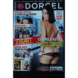 DORCEL N° 27 CLAIRE CASTEL * La Sodomie * Magazine + 2 DVD
