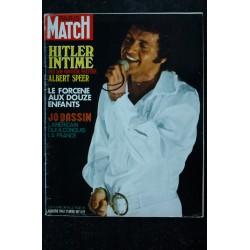 PARIS MATCH N° 1140 13 MARS 1971 FERNANDEL Cover NUMERO HOMMAGE 100 photos inédites