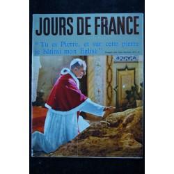 JOURS DE FRANCE 478 11 janv. 1964 Dany SAVAL Cover + 5 p. - Sheila - Sylvie & Johnny -Audrey Hepburn - 84 p.
