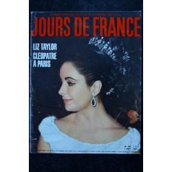 JOURS DE FRANCE 469 9 nov. 1963 BRIGITTE BARDOT Cover + 4 p. - Dior - Capucci Catherine Spaak - 140 p.