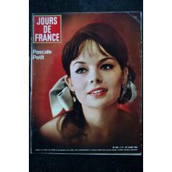JOURS DE FRANCE 500 13 juin 1964 Françoise DORLEAC Cover + 4 p. - Annabelle et Bernard Buffet - Bardot 4 p. - 140 pages