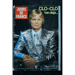 JOURS DE FRANCE 1272 AVRIL 1979 COVER ANNIE CORDY SUPER-SHOW A L'OLYMPIA JEAN YANNE LA MODE