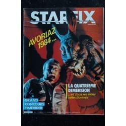 STARFIX 012 n° 12 * 1984 * AVORIAZ 1984 LA QUATRIEME DIMENSION TIMERIDER