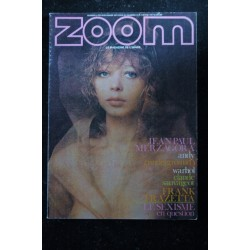 ZOOM MAGAZINE 6 ANDY WARHOL UNDERGRUND SEXISME FEMME & IMAGE MERZAGORA SAUVAGEOT