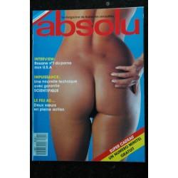ABSOLU 6 PHOTO CHARME SALACE CLUB GIRLS NUDES 300 PIN-UP STRIP INTEGRAL NUS 89
