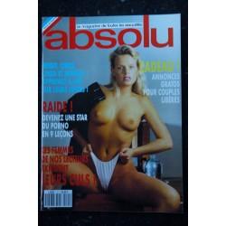 ABSOLU 10 STRIP TATOUAGES DE VYVYN LAZONGA PIN-UP INTEGRAL NUDE AU NATUREL 1990