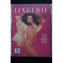 PLAYBOY'S LINGERIE 1990 MAY/JUN NIA BREEON TERRI HIGGINS CAROLINE BECK E BROADY
