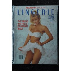 PLAYBOY'S LINGERIE 1991 JULY/AUG MICHELE SMITH CYNTHIA HARRIS BETH MARRERO NUDES